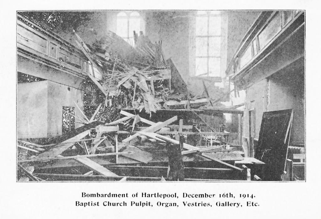 Damage of the Organ and Pulpit, Vestries and Gallery.