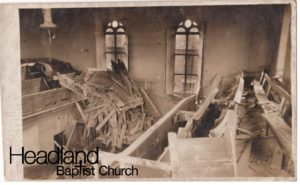 After the shell hit.. the organ was destroyed